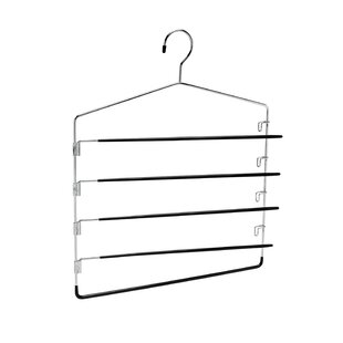 Swinging Arm Pant Rack 5-Tier Hanging Organizer