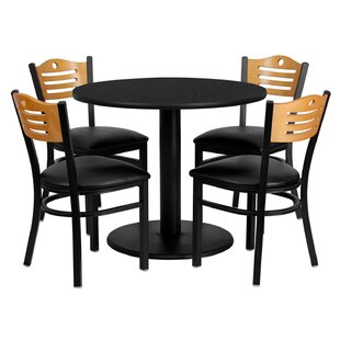 Lomonaco 5 Piece Dining Set by Winston Porter Find