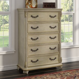 Astoria Grand Cavas 5 Drawer Chest