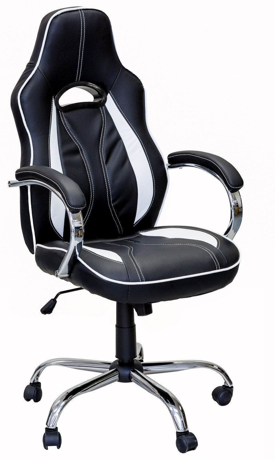 Tormey Series Gaming Racing Style Swivel Office Chair on blue race car desk chair, retro style office chair, racing computer chair, racing furniture, camaro racing car office chair, antique style office chair, audi racing office chair, gt omega pro racing office chair, sitting in a chair, racing seats, racing chair xbox one, western style office chair, car style office chair, racing style swivel chair,