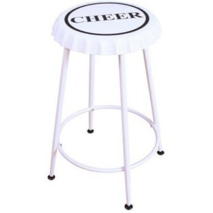 Brandes 2 Piece Metal Counter Height Bar Stool Set (Set of 2) Williston Forge