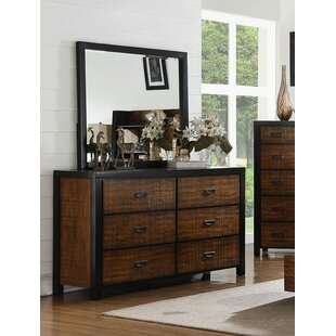 Foundry Select Everett 6 Drawer Dresser with..