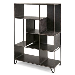 Brown Iron Cube Unit Bookcase Trent Austin Design Lovely