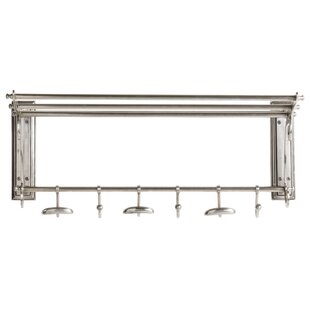Troncoso Wall Mounted Coat Rack By Rosalind Wheeler