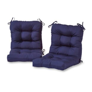 Sarver Indoor/Outdoor Lounge Chair Cushion (Set of 2)