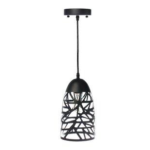 Wrought Studio Montross 1-Light Cone Pend..
