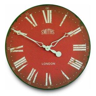 Antique Red Clock Wayfair