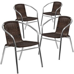Patio Dining Chair (Set Of 4) by Flash Furniture Best Choices