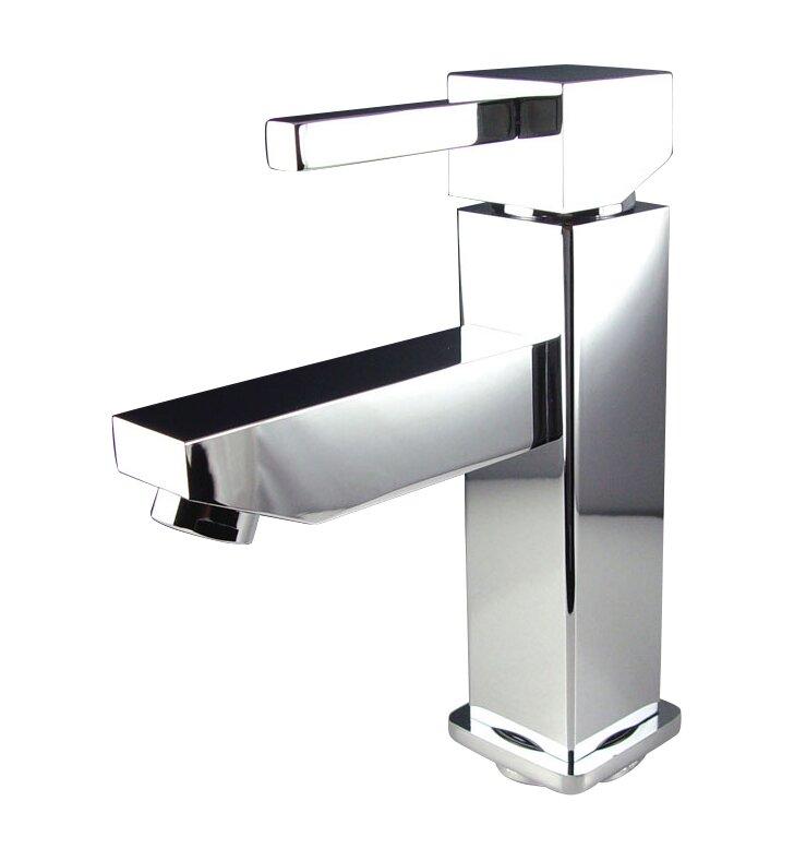 Bathroom Faucet Single Hole fresca versa single hole mount bathroom faucet with single handle