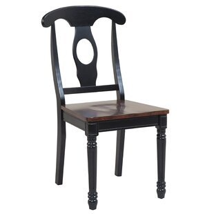 Darby Home Co Lavonna Solid Wood Dining Chair (Set of 2)