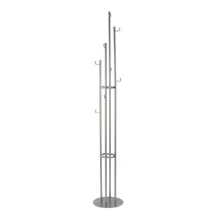 Orren Ellis Caelum Industrial Vertical Slim Coat Rack