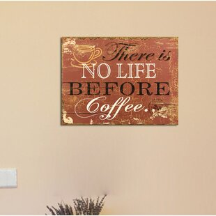 Elegant Coffee Wall Decor | Wayfair