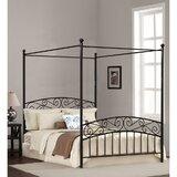 Dionysios Metal Canopy Bed by Ebern Designs