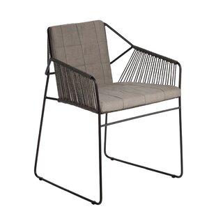 Sandur Patio Dining Chair with Cushion