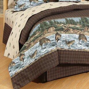 Wildon Home ® River Fishing 4 Piece Sheet Set