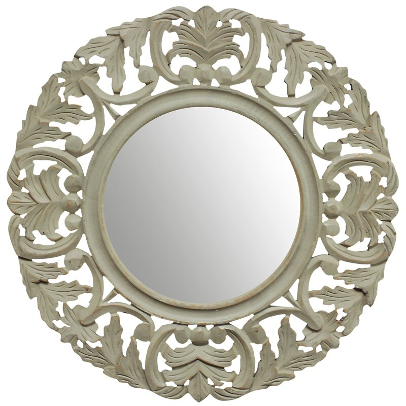 Wayfair Wall Mirrors fetco home decor tagen wall mirror & reviews | wayfair