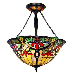 Hackmore 3-Light Bowl Pendant by Astoria Grand