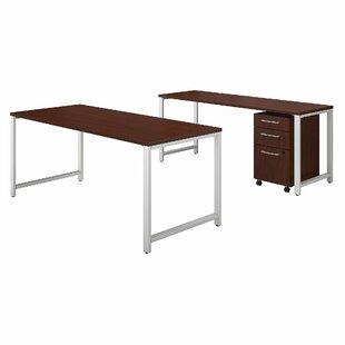 Bush Business Furniture 400 Series 3 Piece Desk Office Suite