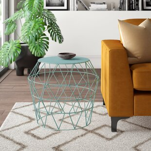 Carnegie Hill Drum Accent Stool by Mercury Row