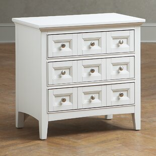 Find for Byram 3 Drawer Nightstand by Three Posts