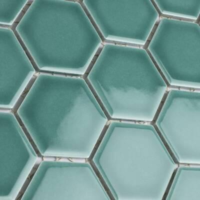Elitetile Tribeca 2 X 2 Porcelain Honeycomb Mosaic Wall Floor Tile Reviews Wayfair