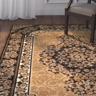 Affordable Arkin High-Quality Woven Double Shot Drop-Stitch Carving Berber Area Rug ByAstoria Grand