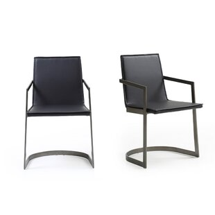 Camron Modern Upholstered Arm Chair (Set of 2)