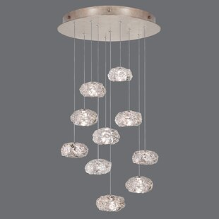 Fine Art Lamps Natural Inspirations 10-Light Cluster Pendant
