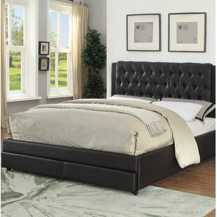 Francille Queen Upholstered Storage Platform Bed by DarHome Co