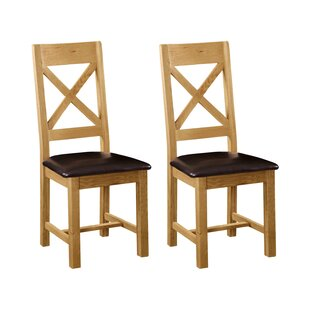 Solid Wood Dining Chair (Set Of 2) By ClassicLiving