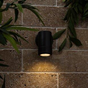 Logenita Outdoor Wall Sconce By Sol 72 Outdoor
