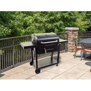 Charcoal Grill 780 with Side Shelves