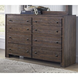 Millwood Pines Van Reipen 8 Drawer Double Dr..