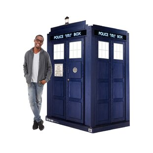 Dr. Who 3D Tardis Cardboard Standup By Advanced Graphics