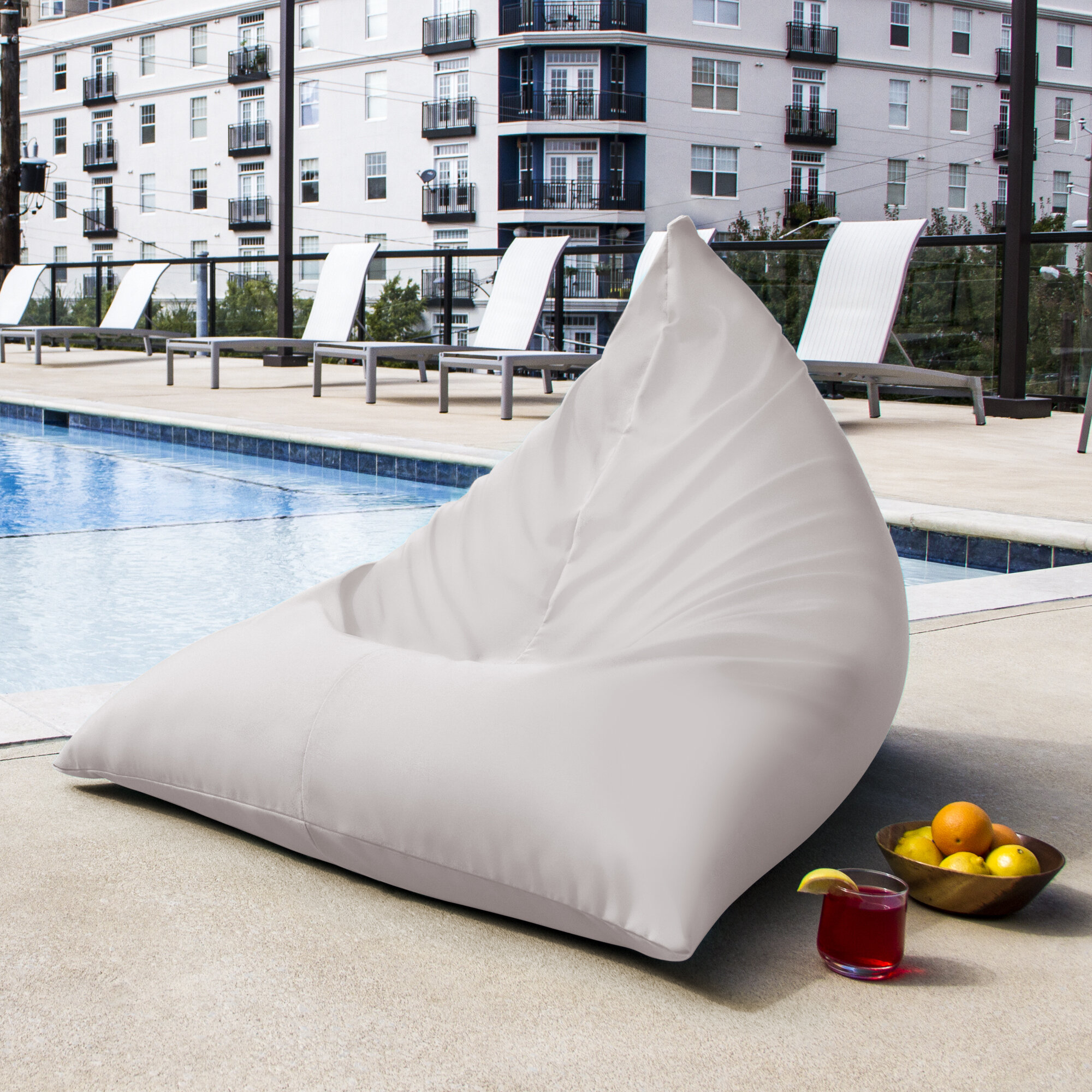 Awe Inspiring Twist Outdoor Bean Bag Chair Caraccident5 Cool Chair Designs And Ideas Caraccident5Info