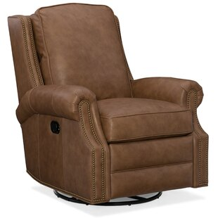 Aaron Leather Manual Wall Hugger Recliner by Bradington-Young Comparison