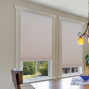 easy lift trimathome cordless light filtering fabric cellular shade