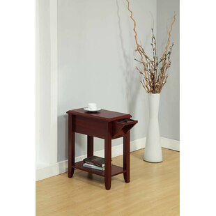 Tollett Chairside End Table with Storage