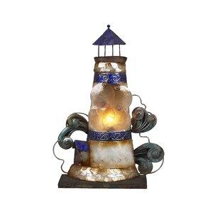 Find Burkeville Coastal Light House 15 Table Lamp By Longshore Tides