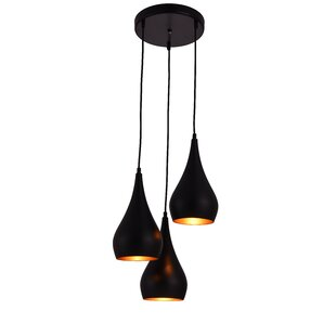 Modern pendant lighting allmodern 3 light cluster pendant aloadofball Gallery