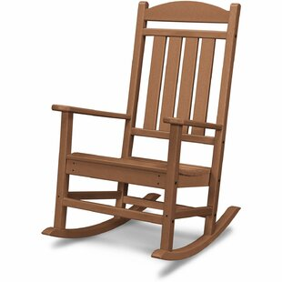 Little Sodbury All-Weather Porch Teak Rocking Chair by Millwood Pines