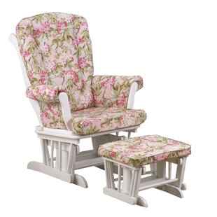 Oxford Glider and Ottoman by Harriet Bee