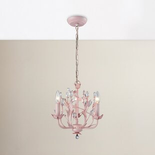 Viv + Rae Dalia 3-Light Candle Style Chan..