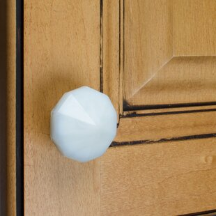 India Glass Octagon Cabinet Novelty Knob