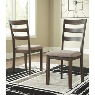 Alviso Upholstered Dining Chair (Set of 2) by Charlton Home SKU:BB302612 Information