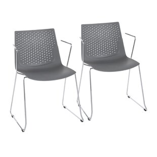 Lesli Dining Chair (Set of 2) Wrought Studio