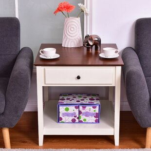 Cohasset End Table by Charlton Home