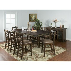 Birney 9 Piece Dining Set by Loon Peak