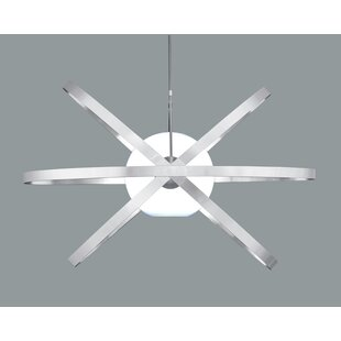 Ikon Cosmos 1-Light Semi Flush Mount by Sunpan Modern
