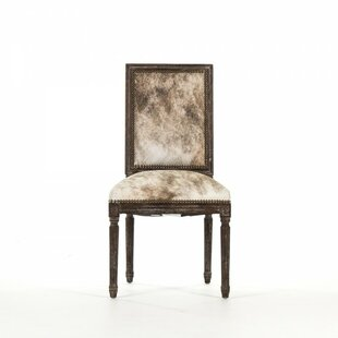 Arviso Cowhide Side Chair by One Allium Way